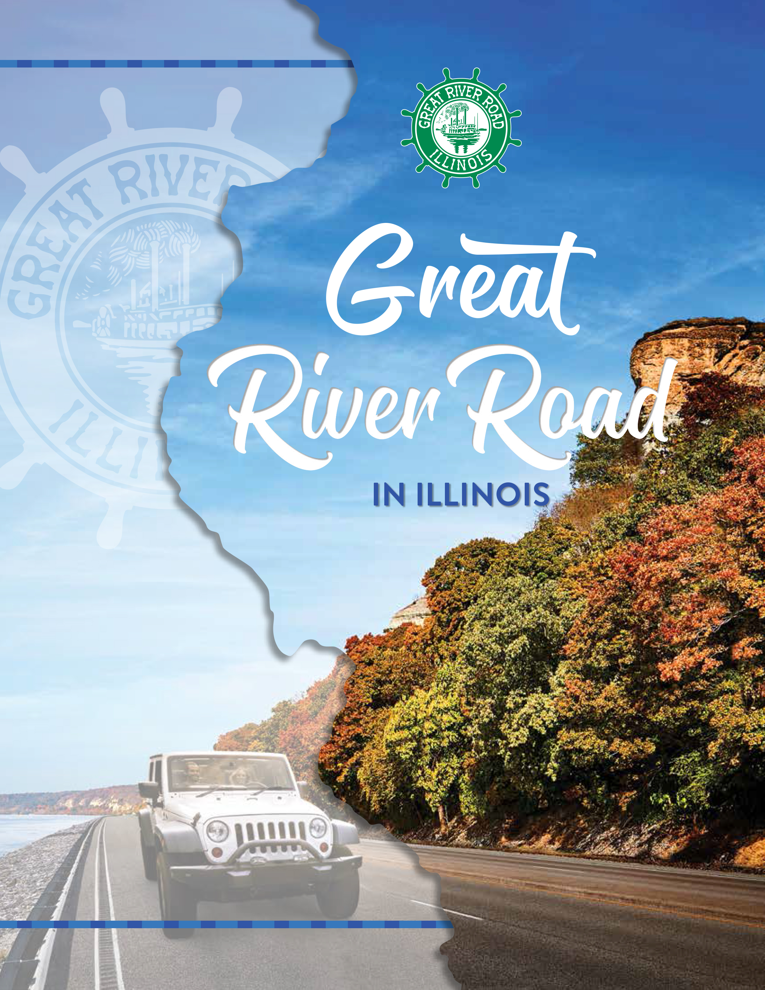 Great River Road in Illinois Itinerary - English