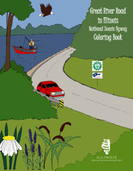 Great River Road in Illinois Coloring Book