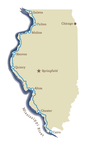 The Great River Road - Our Regions