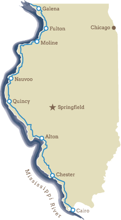 The Great River Road - Central Region